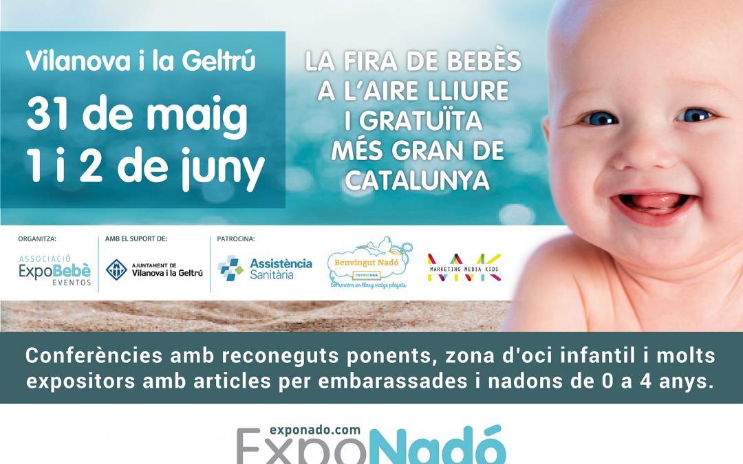 ExpoNadó Vilanova, un fin de semana dedicado al embarazo, la infancia y las nuevas familias
