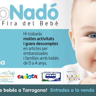 Bebés Tarragona, un cap de setmana dedicat a l'embaràs, l'infància i les noves famílies
