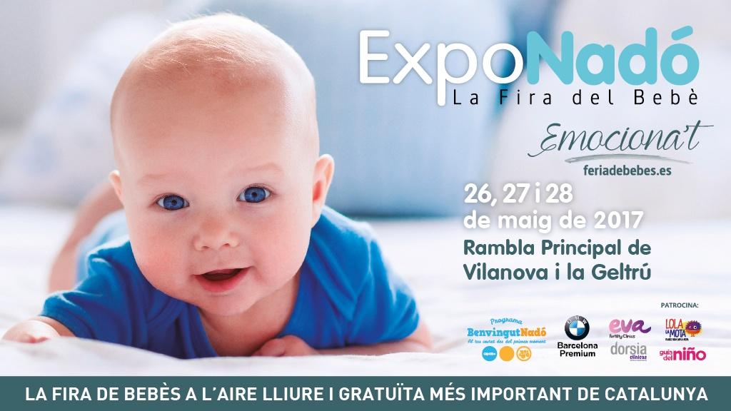 ExpoNadó, la feria de bebés al aire libre más importante de Cataluña, vuelve el 26, 27 y 28 de Mayo
