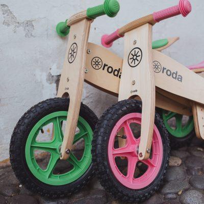 RODA, la bicicleta sin pedales que tu peque necesita