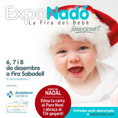 ExpoNadó, la feria de bebés más importante de Cataluña, vuelve el 6, 7 y 8  de diciembre a Sabadell