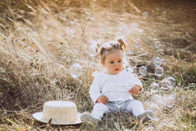 Jugar con burbujas