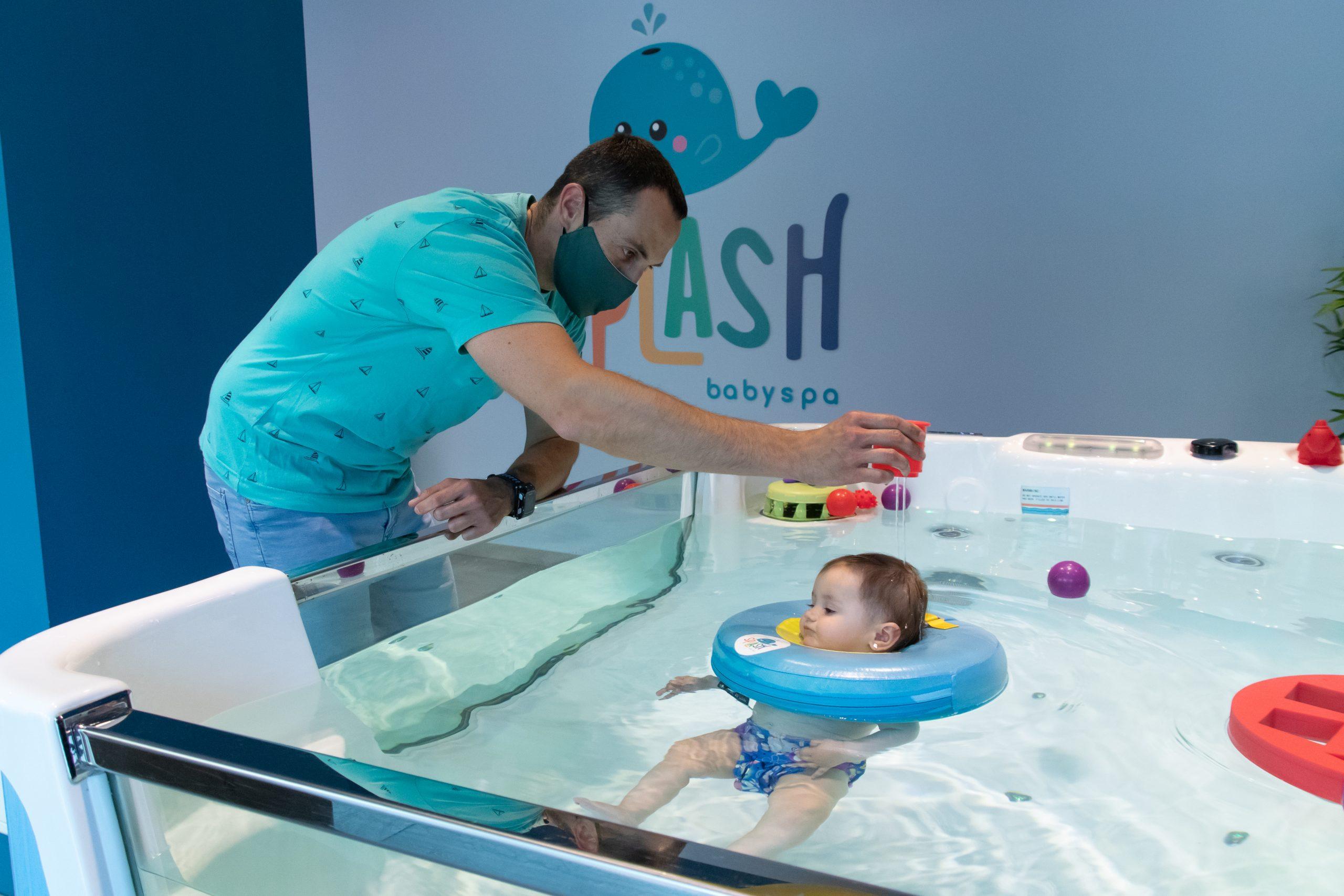 un spa para tu bebé