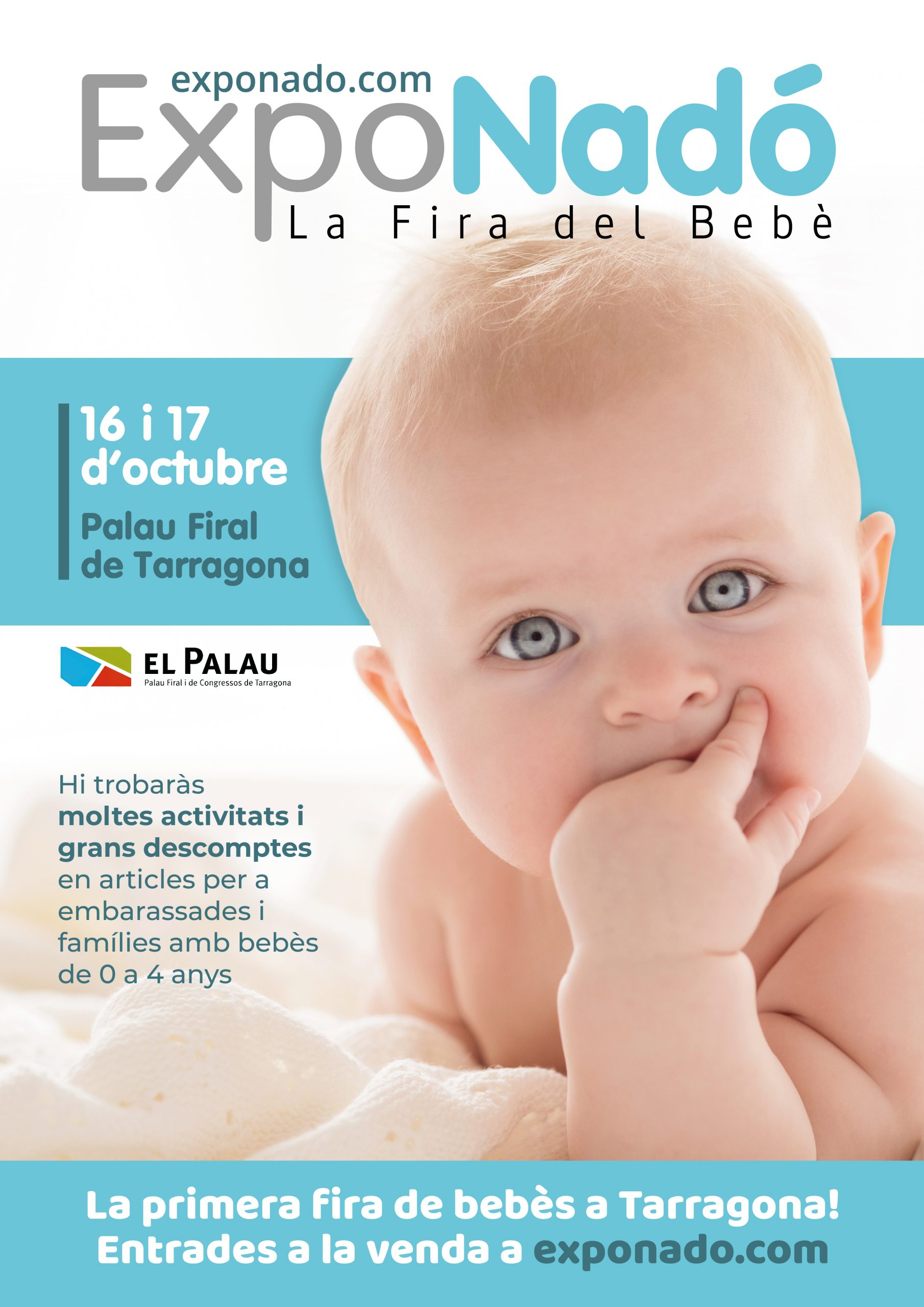 ExpoNadó, la feria de bebés itinerante más importante de Cataluña.